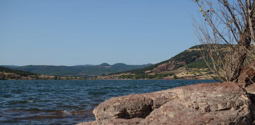 rote Felsen Lac du Salagou