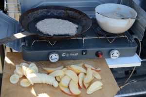 Outdoor kochen, Rezepte