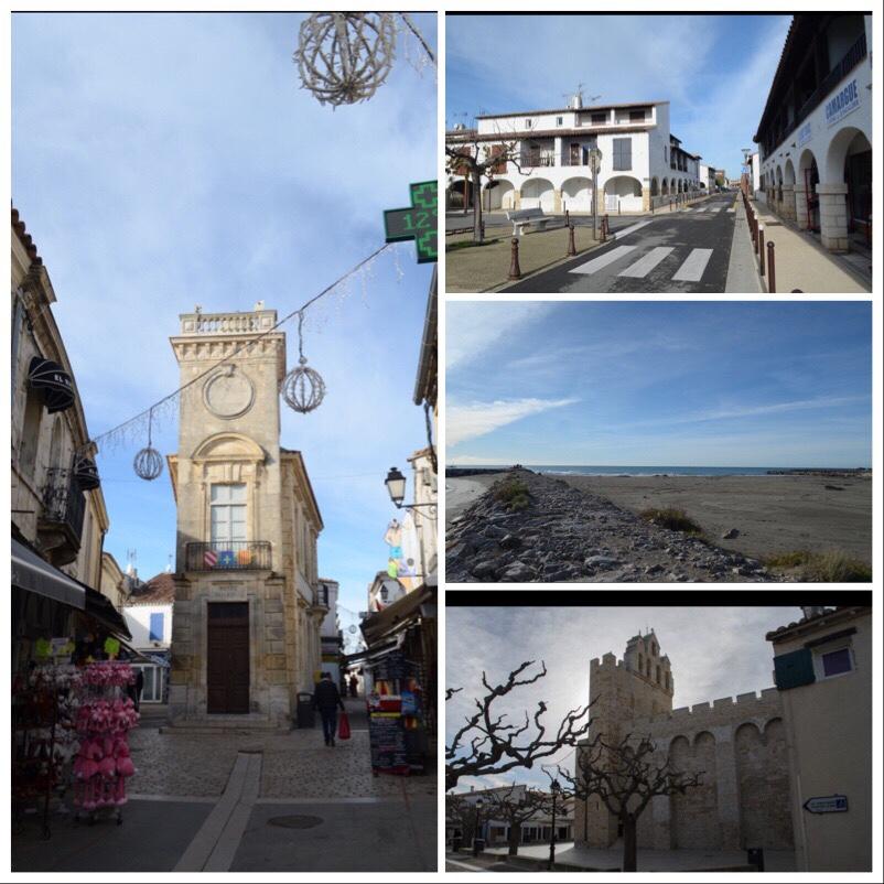 Stadt Sainte Maries de la Mer in der Camargue Städtetripp Frankreich