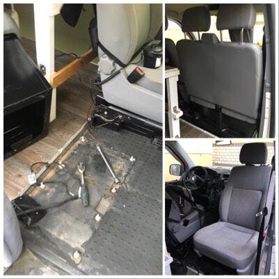 Drehkonsole t% T6 Sportscraft Sitzbank zum Einzelsitz