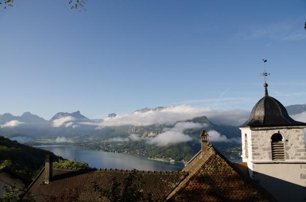 Bergsee in den französischen Alpen