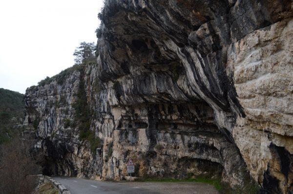 Felsen in den fanzösischen Alpen