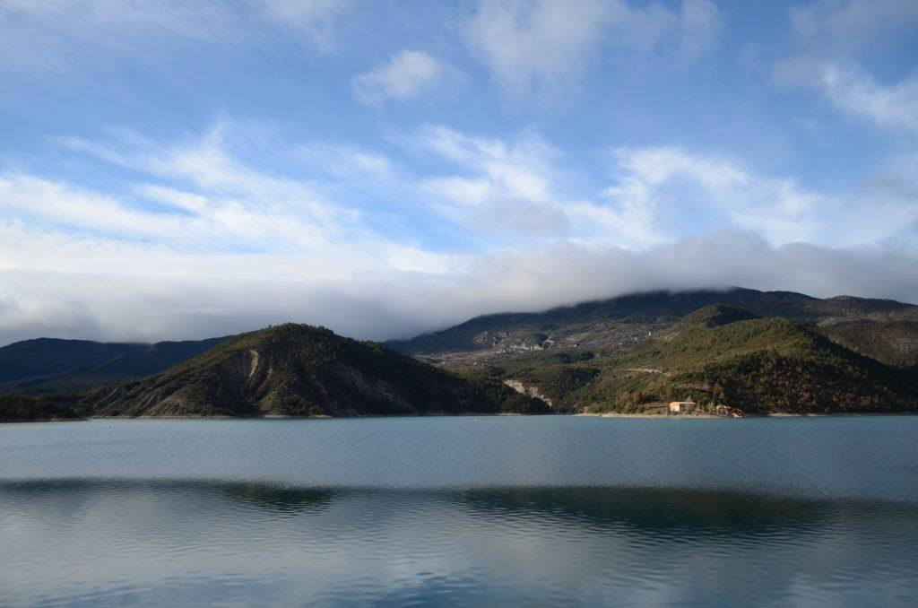 Lac du Barrage Castillon Südfrankreich