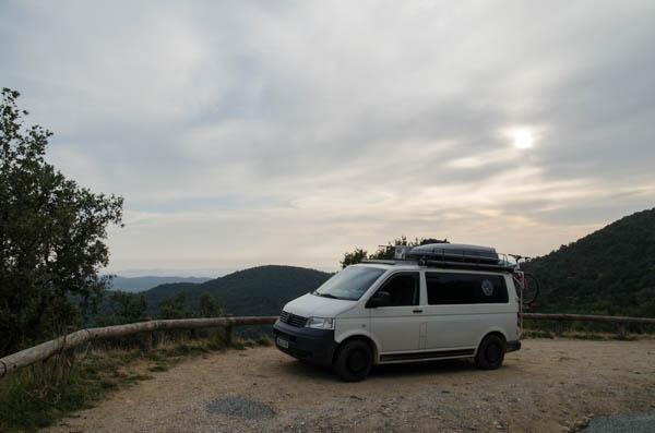 Vanlife an der Cote d' Azur