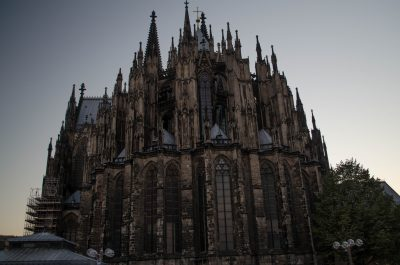 Kölner Dom, Beginn meines Roadtrips durch Frankreich