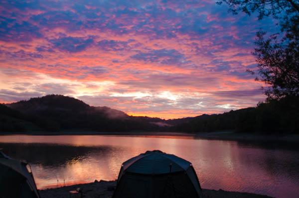 Sonnenaufgang Südfrankreich