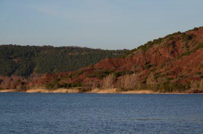 Lac du Salagou- Südfrankreich