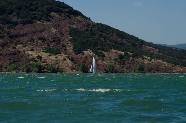 Segelboot in Frankreich