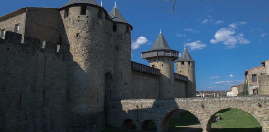 Chateau in Carcassonne