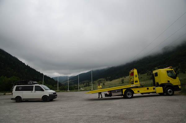 Abschleppdienst Frankreich- ADAC Service