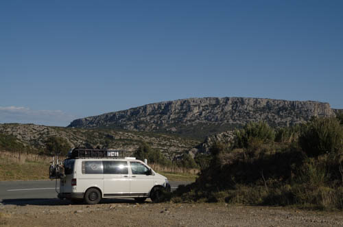 Vanlife France, Camnpervan