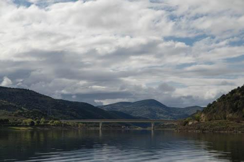 Lac de Barrage in Südfrankreich
