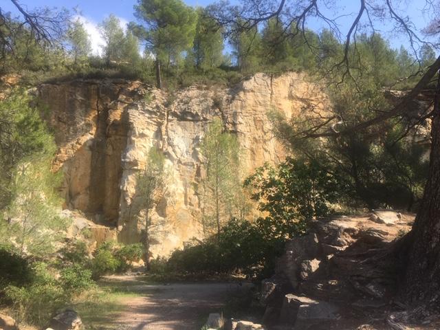 Klettern an der Cote d' Azur