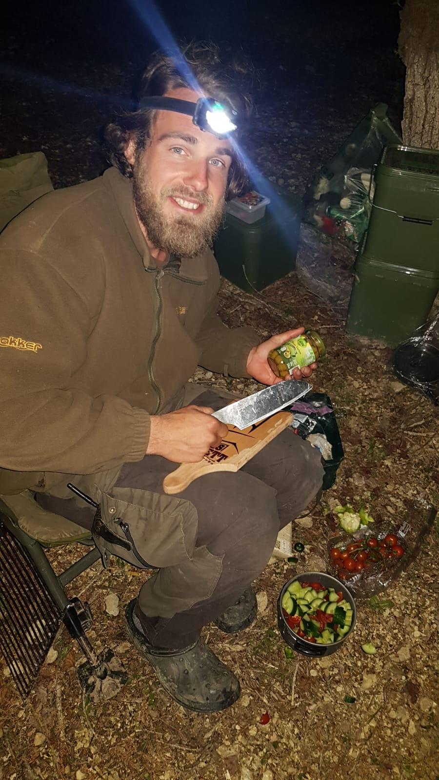 gesund kochen in der Wildnis